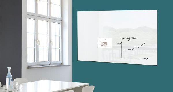 Materiali per lavagne di design for Lavagne magnetiche da arredo