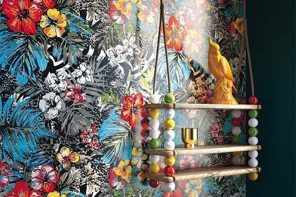 Rivestimento a parete con piastrelle ceramiche della collezione Mash Up