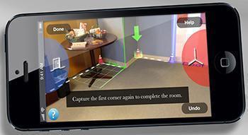 Con l'app Magic Plan è possibile rilevare qualsiasi stanza in modo semplice e veloce.