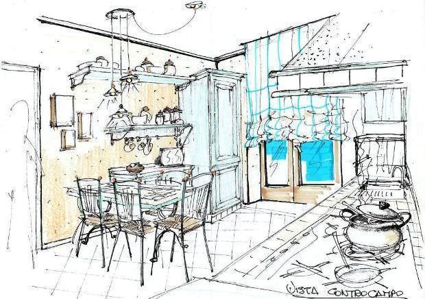 Disegno Cucina Mobile Isola ~ Il meglio del design degli interni