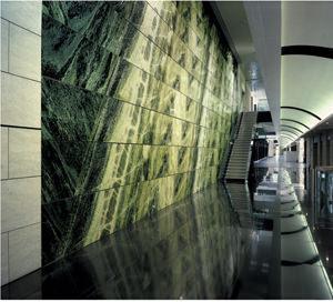rivestimento in pietra Irish Green di Antolini