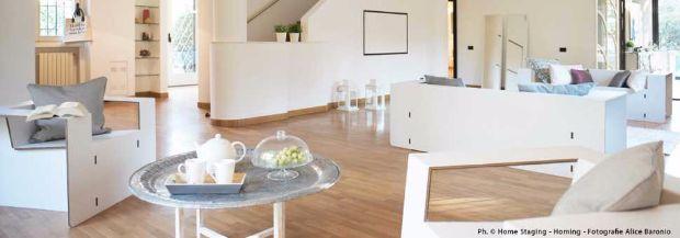 Home staging, mobili in cartone di Nardi