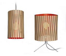 lampade in cartone di GrayPants