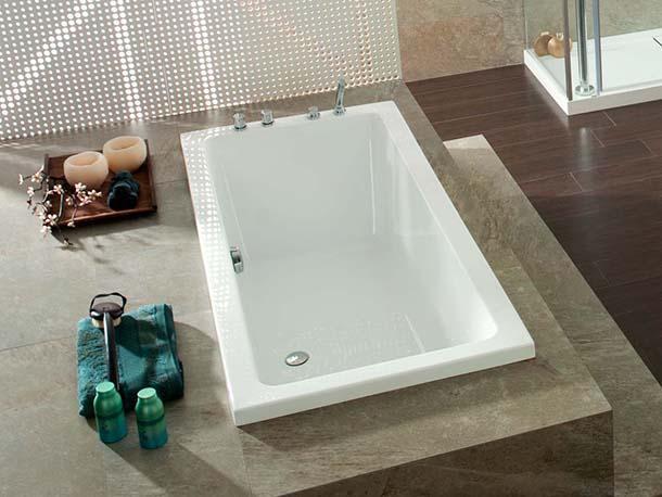 Vasca Da Bagno Rettangolare Grande : Dimensioni vasca da bagno modelli per tutti vasche da bagno