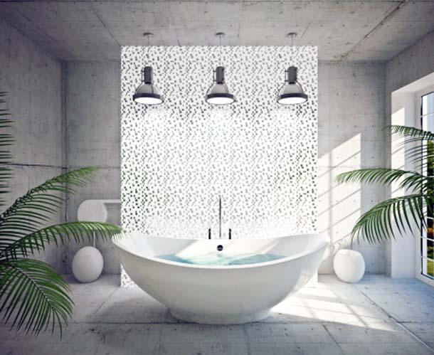 vasche da bagno extra large, Disegni interni