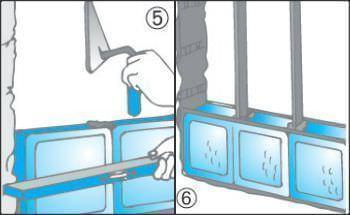 Costruire pareti in vetrocemento - Piastrelle vetrocemento ...