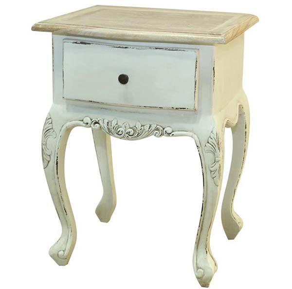 Comodino in stile shabby chic di Etnic Art