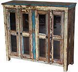 Vetrinetta realizzata con legno di recupero, di Etnic Art