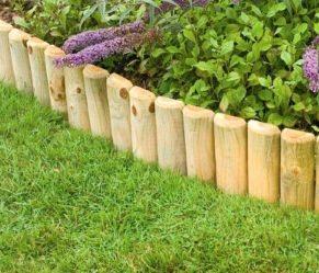 Mobili lavelli bordure per aiuole in legno leroy merlin for Bordure per aiuole fai da te