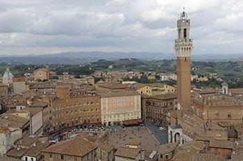 Siena, Piazza del Campo.