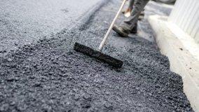 Riparazioni sull'asfalto