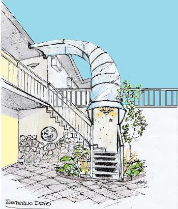 Giardino disegno Tetto : ? stato pertanto chiesto il permesso a costruire, agli uffici ...