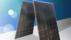 Pannelli fotovoltaici a due facce