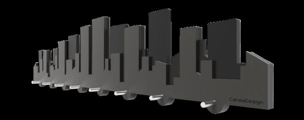 Skyline cittadini per l 39 arredo di casa - Portachiavi da parete design ...