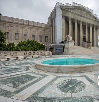 Palazzo corte suprema USA