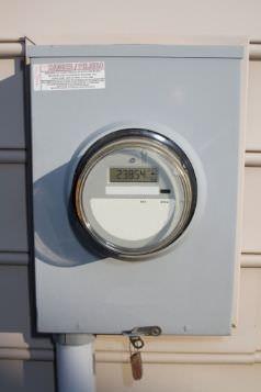 Contatore di sottrazione dell 39 energia elettrica per gli for Contatore luce