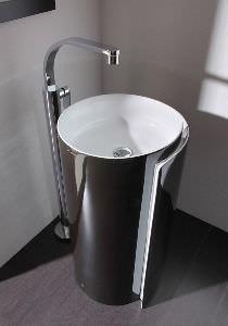 lavabo tondo freestanding