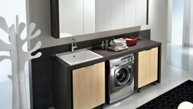 Trasformare Lavanderia In Bagno : Come arredare un bagno con lavanderia magazine deghishop