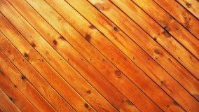 Posa delle perline in legno inclinate