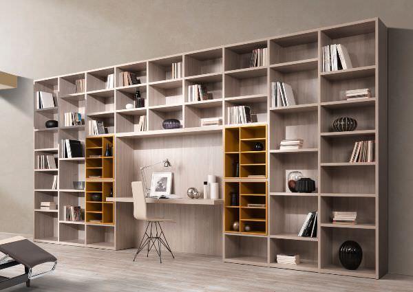 Disimpegno come trasformarlo in zona studio for Mobile scrivania libreria
