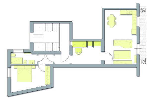 Pianta appartamento