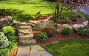 Rocce in giardino