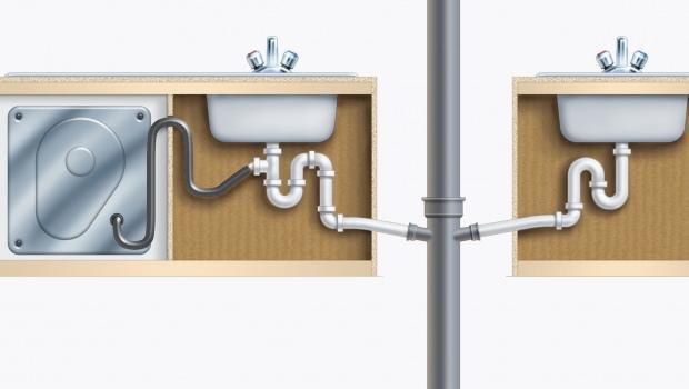 Impianto idraulico progettare la cucina - Scarico lavello cucina ...