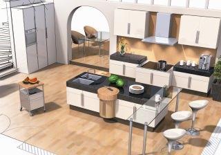 Impianto idraulico progettare la cucina for Costo isola cucina