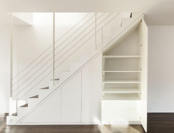 Come attrezzare il sottoscala - Toilette sous escalier ...