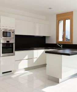 Progettare cucina e soggiorno - Cucina e soggiorno in 30 mq ...
