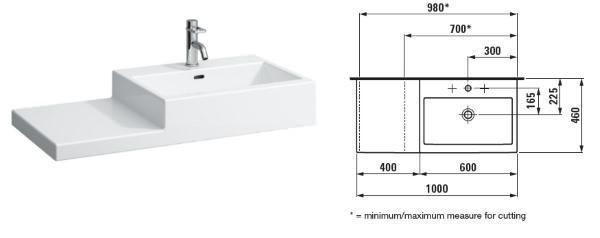 Piccolo bagno come progettarlo - Dimensioni lavandino bagno ...