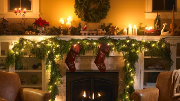 Luci di natale decorare casa - Luci di emergenza casa ...