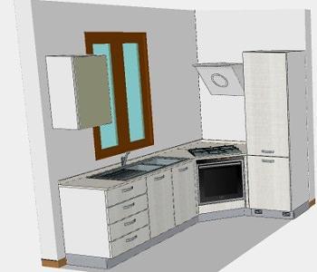 miniappartamento in riva al mare: Cucina ad angolo