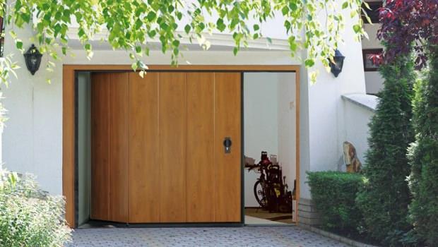 Portoni sezionali a scorrimento laterale - Porta garage sezionale prezzi ...
