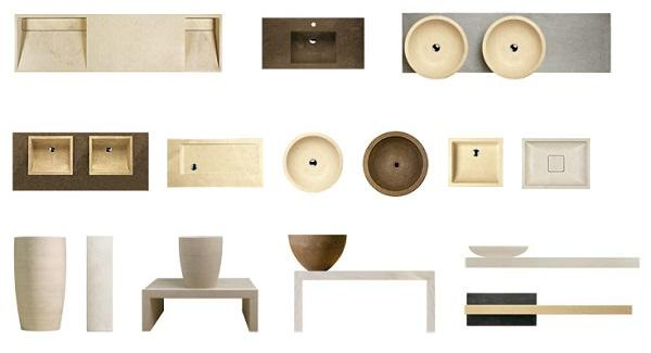 Marmo e design: Pibamarmi, Basic Collection