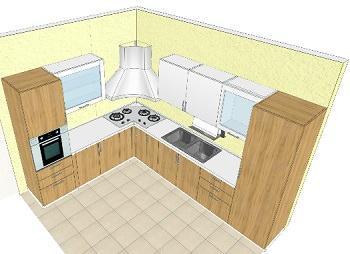 Camino tra soggiorno e cucina for Arredare il soggiorno con camino ad angolo