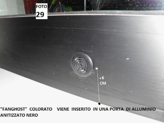 Installazione dispositivo Fanghost per eliminare l'umidità
