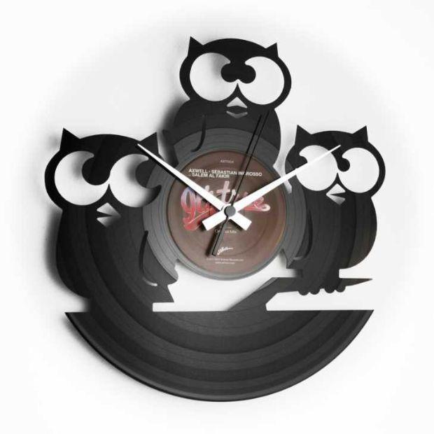Idee regalo orologi a parete con disco di vinile di Regali.it