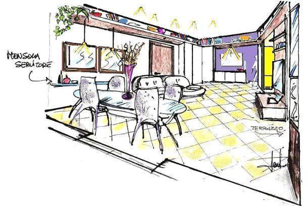 Soggiorno Con Angolo Cottura Dimensioni Minime ~ Il meglio del design degli interni