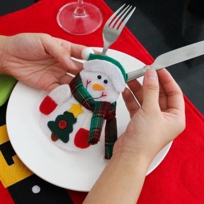 Segnaposto per decorare la tavola a Natale su Amazon