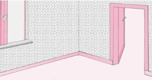 Moquette per rivestire le pareti