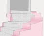 Moquette per rivestire le scale