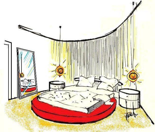 Prezzo Letto Rotondo Ikea.Letto Rotondo Romantico Disegno Di Letto Rotondo Letto Rotondo