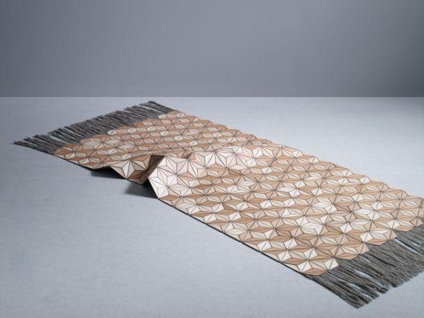 tappeto in legno strozyk