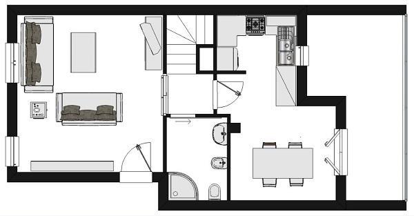 Riprogettare lo spazio cucina: progetto degli interni