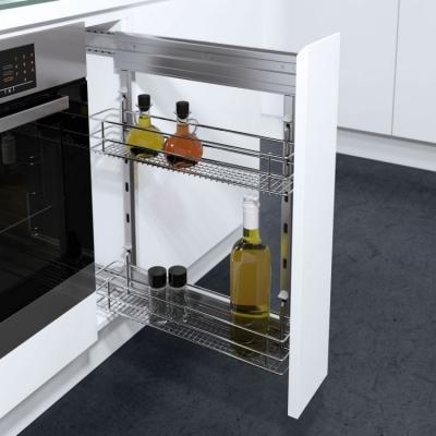 Riprogettare lo spazio cucina: cestello estraibile