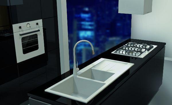 lavelli da cucina in materiale composito: Plados coordinato