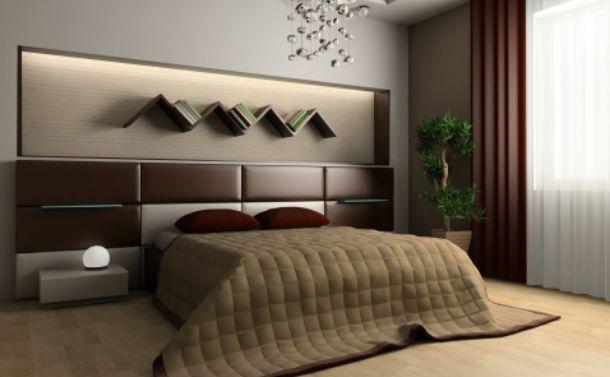 Realizzare una nicchia con funzione di comodino for Mensola sopra il letto