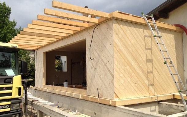 Casa parassita in legno - Ampliare casa con struttura in legno ...