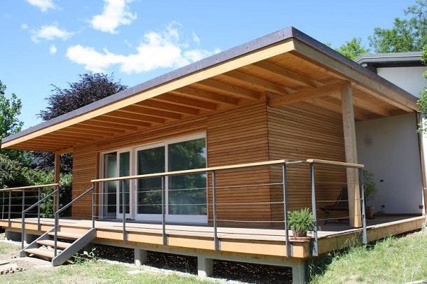 Casa parassita in legno - Costruire una casa in legno ...